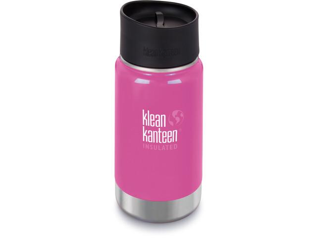Klean Kanteen Wide Vacuum Insulated Drikkeflaske Café Cap 2.0 355ml, pink